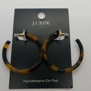 New! J. CREW HOOPS
